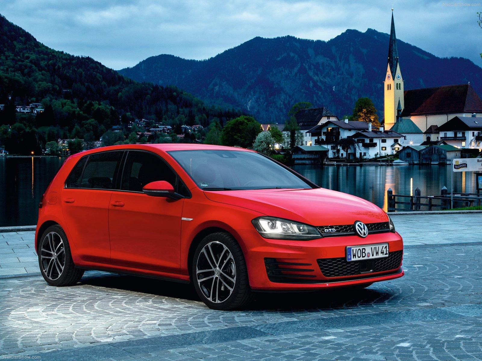 La Volkswagen Golf GTD 2014
