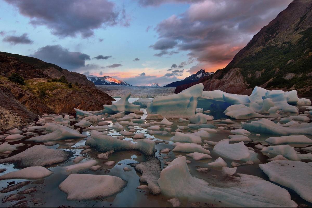 ghiacciaio in Patagonia